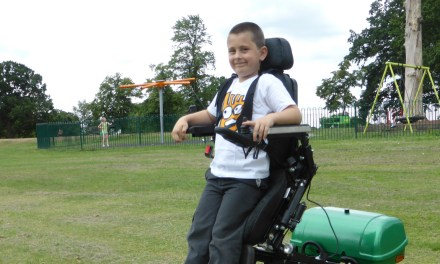 Mybility launch new Kids Stand Up Wheelchair