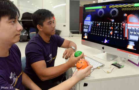 Patients have a ball when therapy meets technology