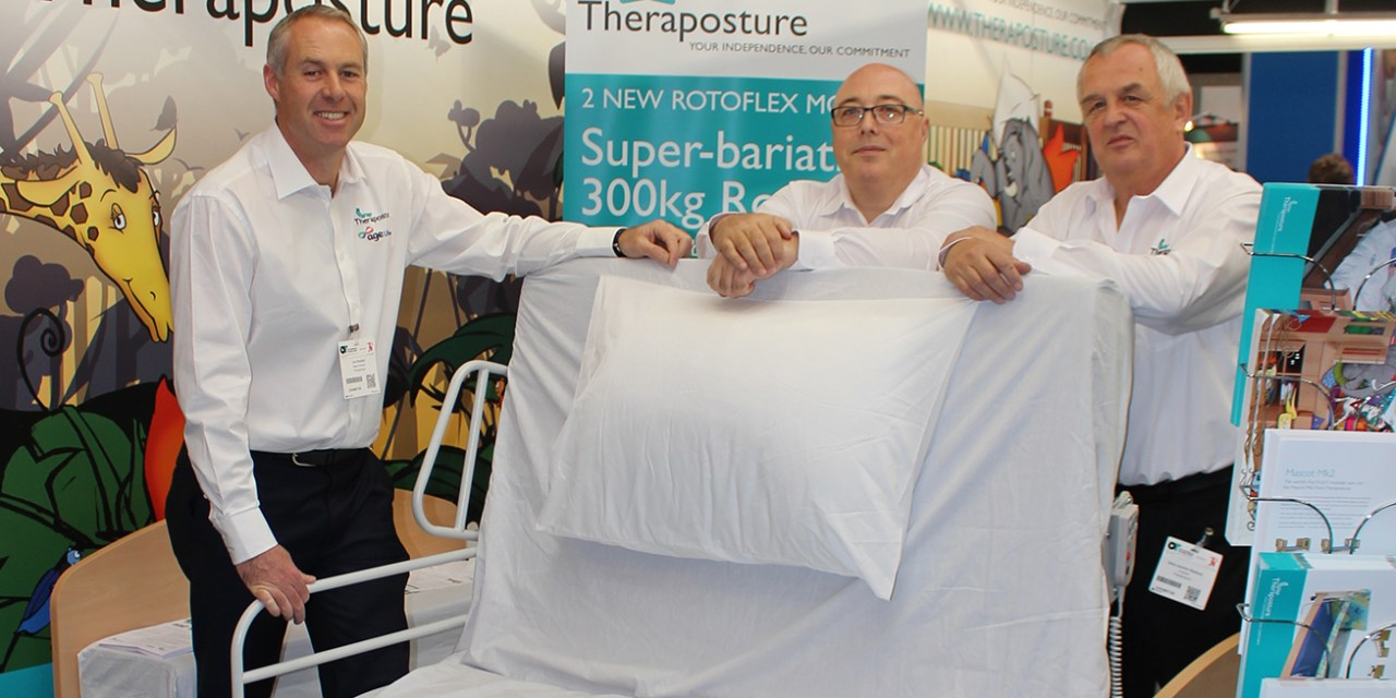 Theraposture launches two new pioneering assistive beds at OT Show
