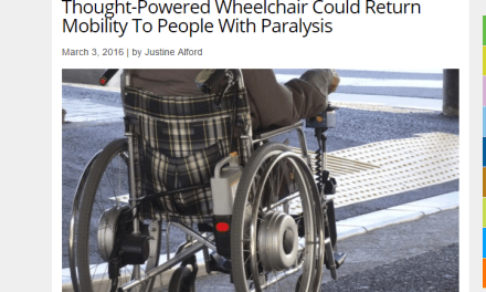 Research reveals Thought-Powered Wheelchair could return mobility