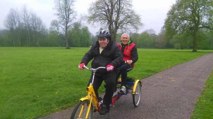 John Rediscovers his love of cycling