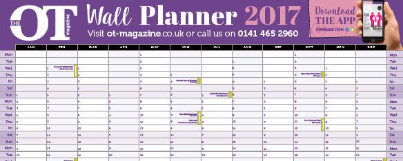 Our fabulous OT wall planner has now launched!