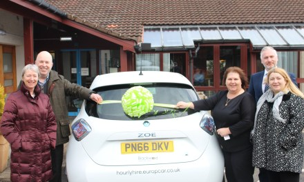 Stirling Care Provider Drives Forward Energy Efficiency With Eco Car