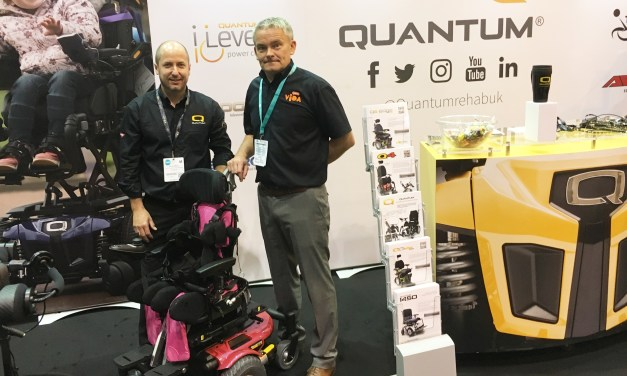 New seating option for Quantum® powerchairs