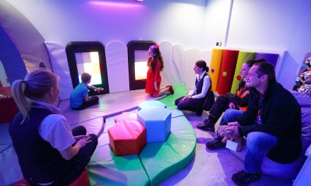 Gatwick Airport opens new sensory room for passengers