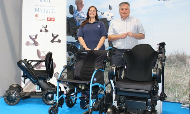 Wheelchair user and carer ergonomics focus from TGA at The OT Show