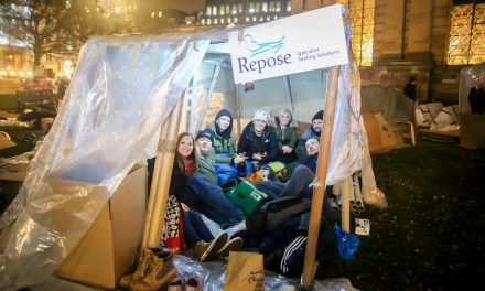Repose sleep out to help homeless