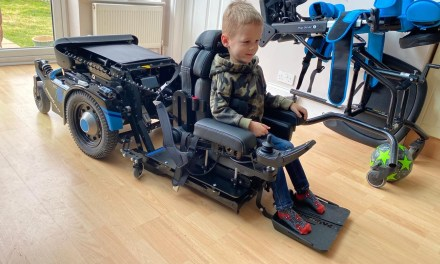 Powerchair transforms class for Noah