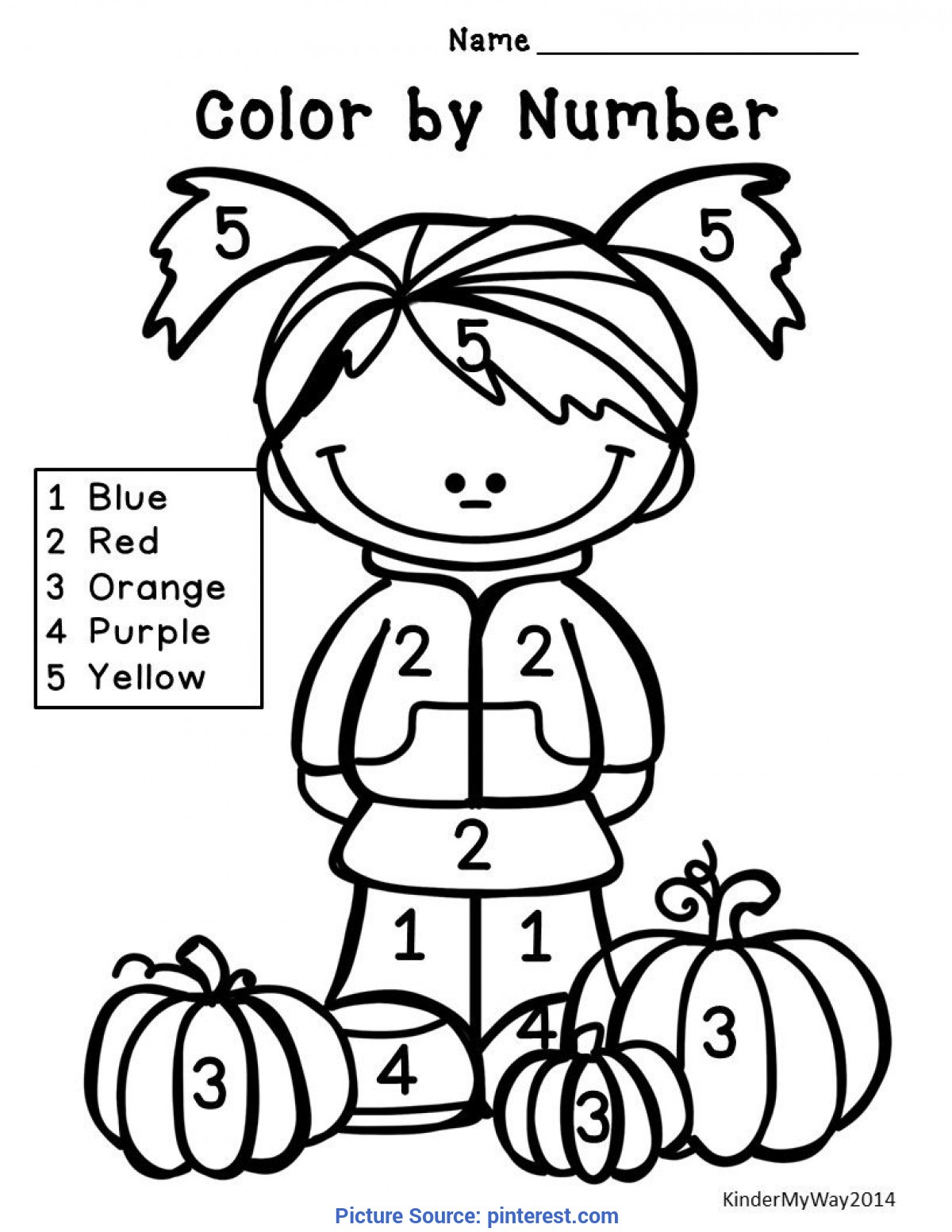 Fresh Autumn Worksheet For Kindergarten Fall Math