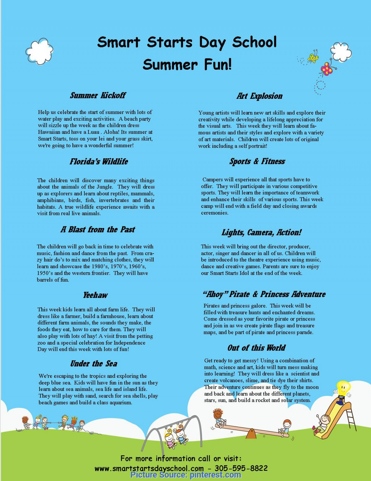 Good Lesson Plans For Preschool Summer Theme Smart Starts