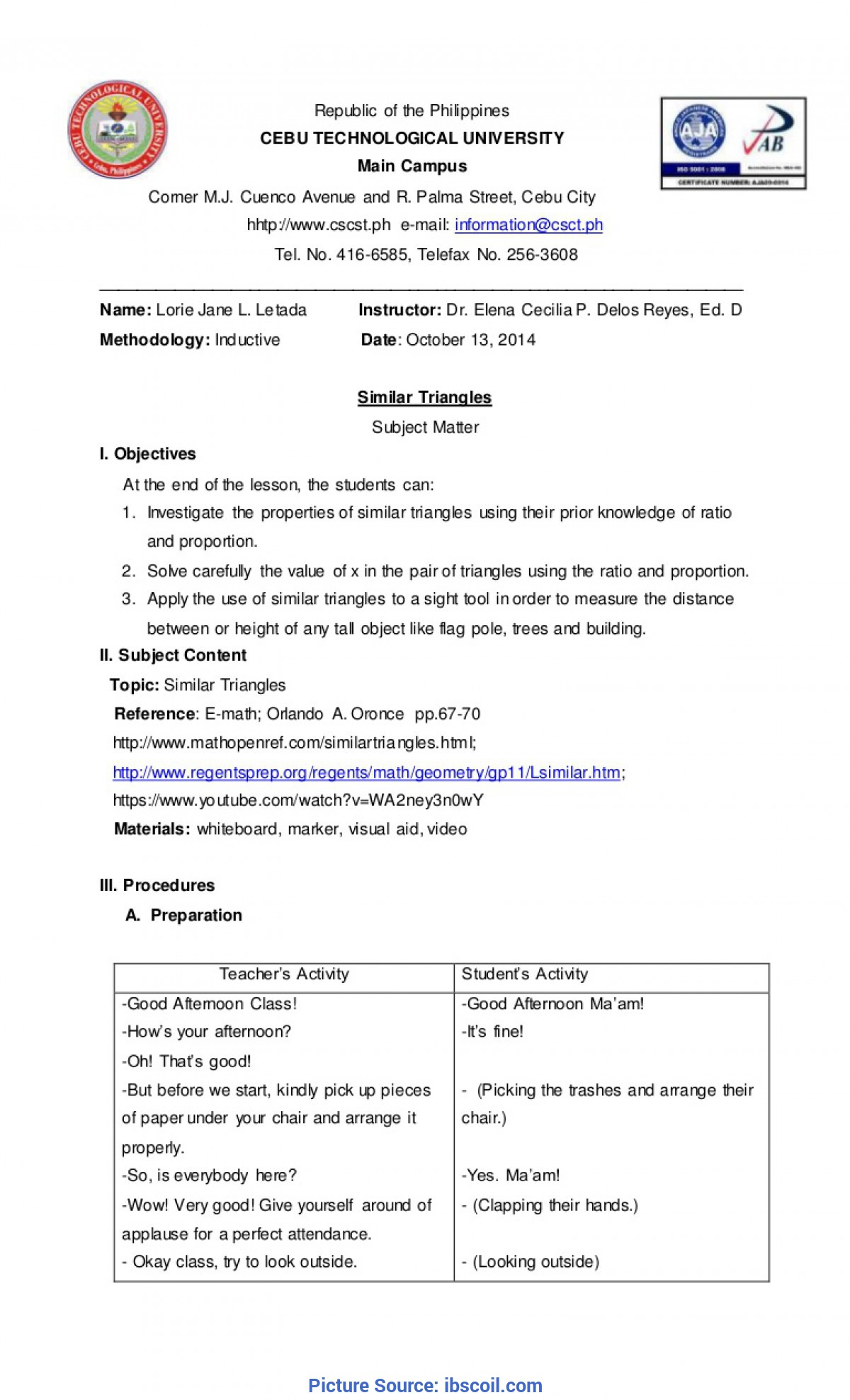 Simple How To Make A Detailed Lesson Plan In English