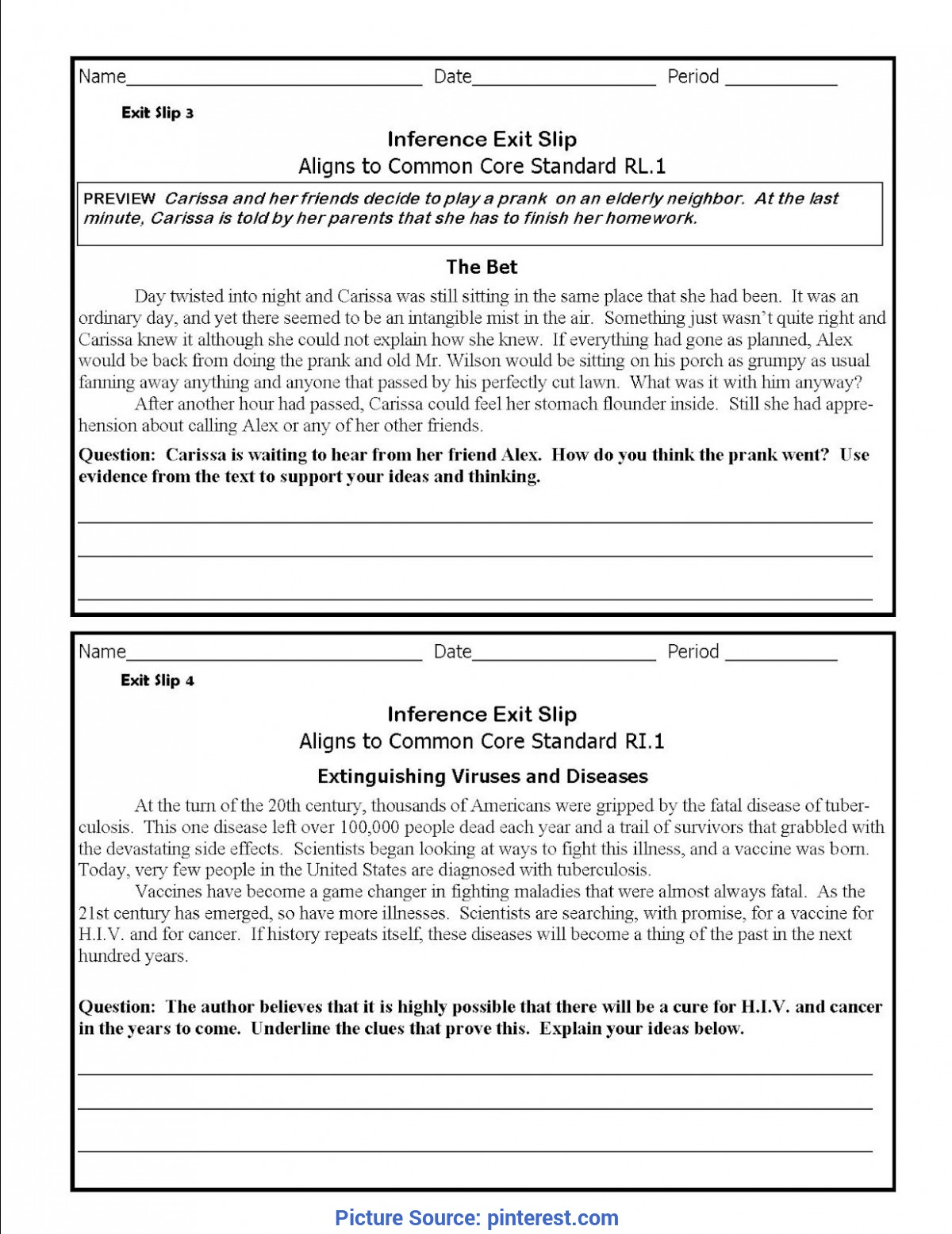 Special High School English Lesson Plans Making Inferences