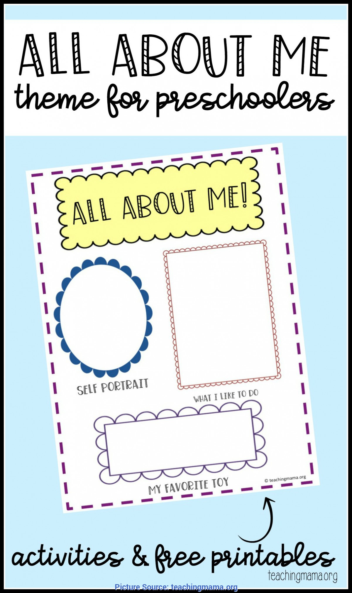 Top 100 All About Me And My Family Preschool Theme