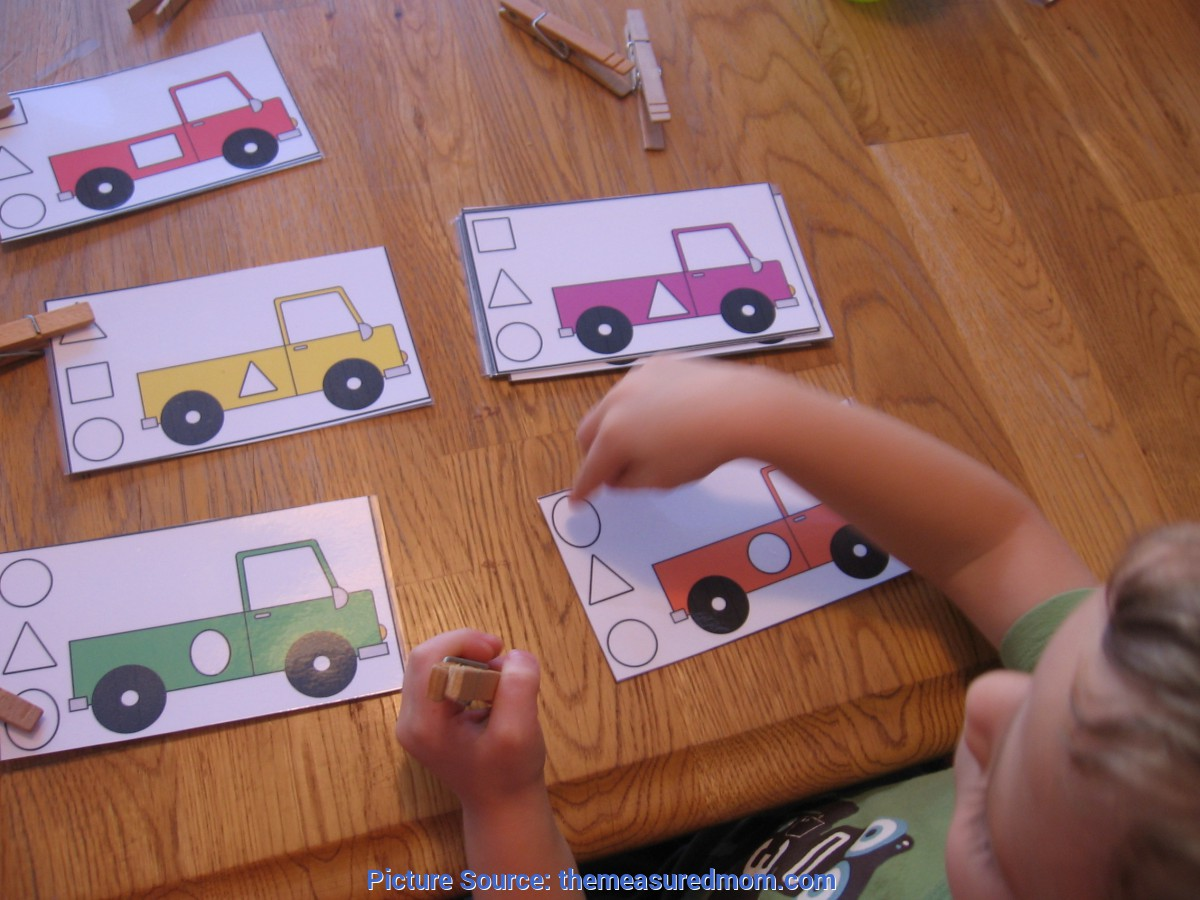 Valuable Math Games For Preschoolers In The Classroom
