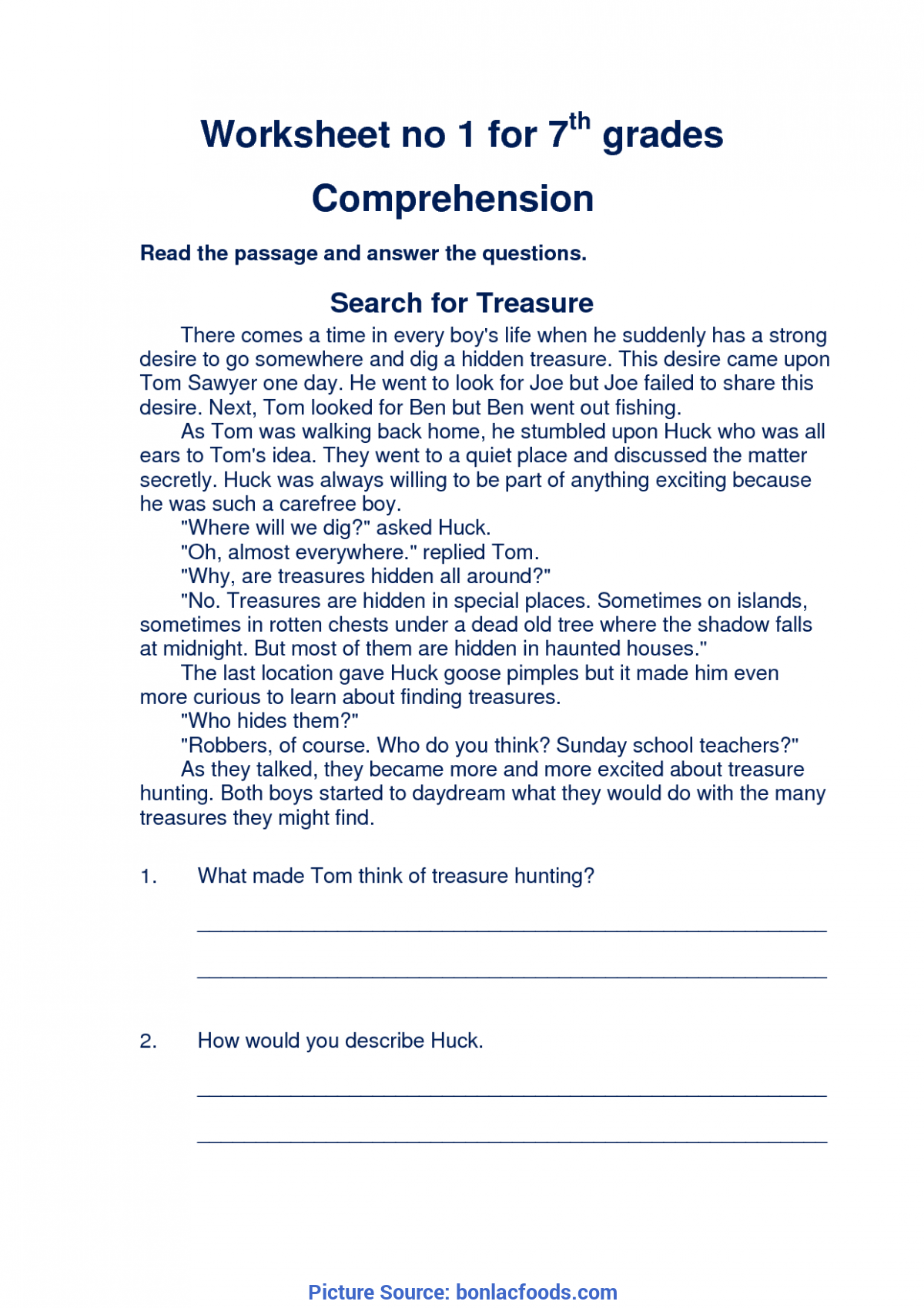 Simple Reading Comprehension Lesson Plan Objectives Sample