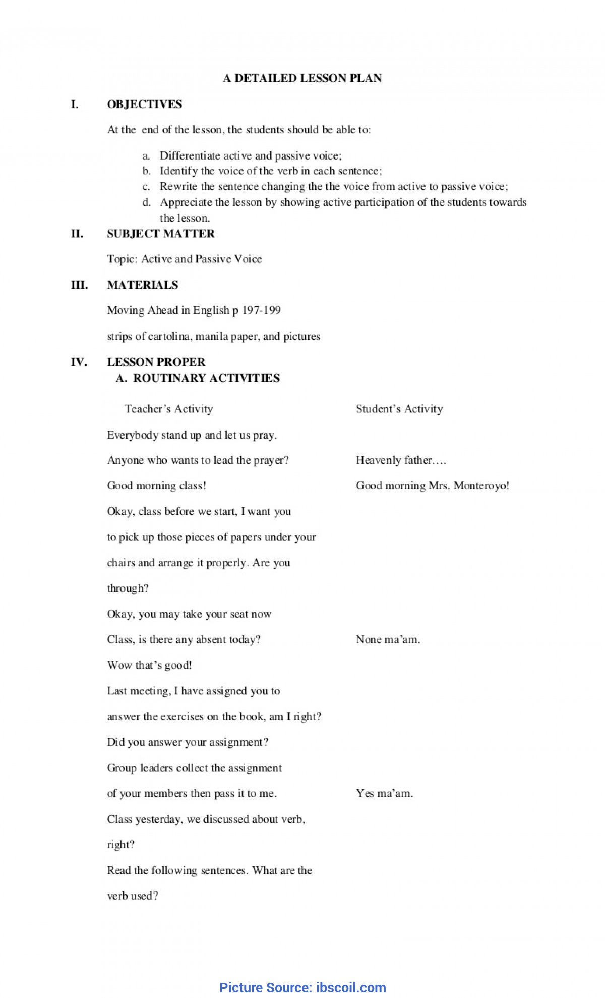 Unusual Lesson Plan For English Class 2 Worksheets For All