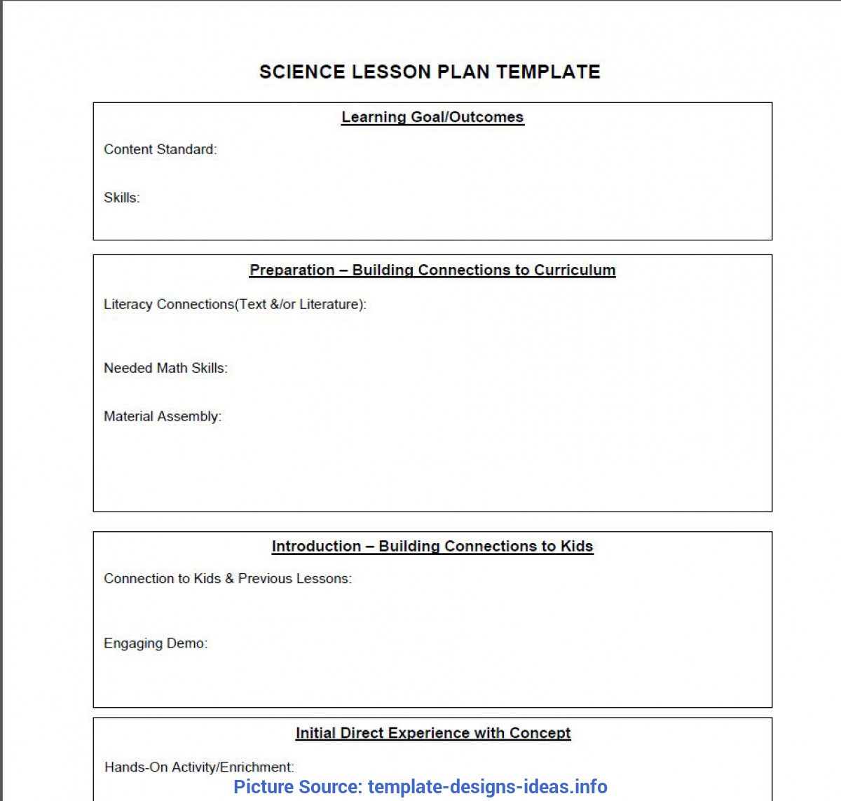 Complex Lessons Learned Format Lessons Learned Template