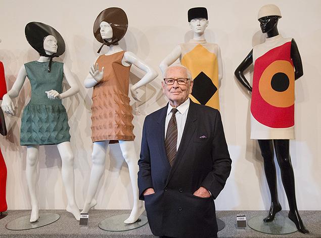 O estilista Pierre Cardin