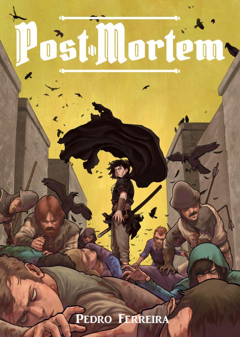 Capa do volume 3 de Post Mortem