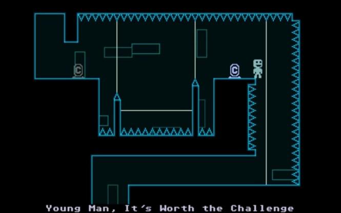Gameplay do jogo VVVVVV - Otageek