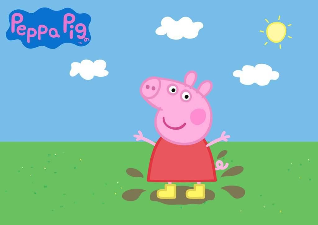 Peppa Pig na sexta temporada de sua animação na Netflix.