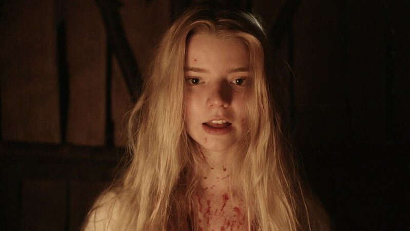 """Anya Taylor-Joy em """"A Bruxa"""" (2015), que passará no Telecine"""