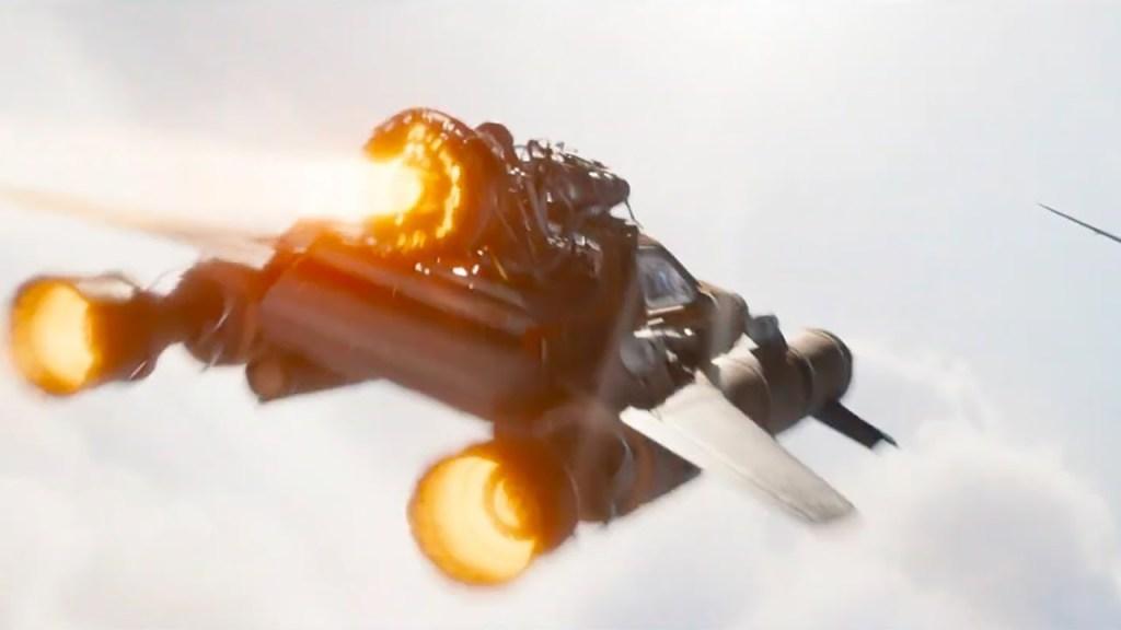 Carro decolando com propulsão de foguete em Velozes e Furiosos 9 - Otageek