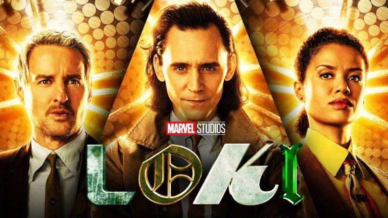wallpaper da série Loki, com Owen Wilson, Tom Hiddleston e Gugu Mbatha-Raw