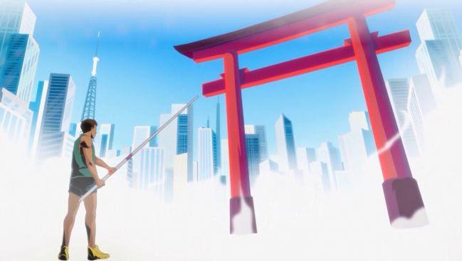 Atleta do salto com vara em versão Anime - Otageek