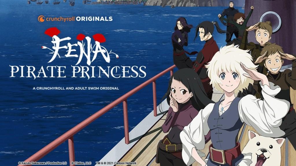 Cartaz do anime Fena: Pirate Princess