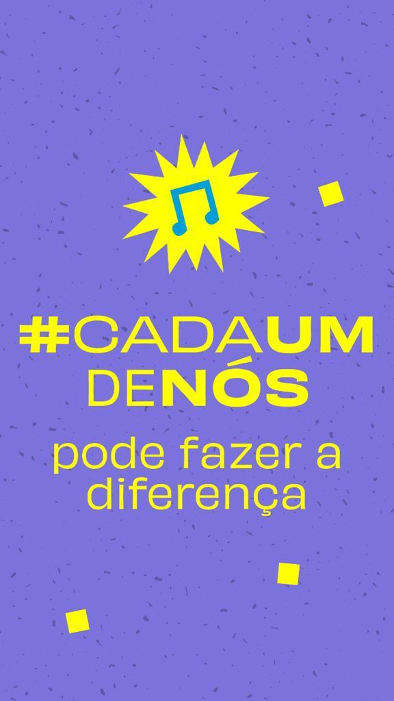 Na imagem de divulgação do Festival ONU é possível ler #CadaUmdeNós pode fazer a diferença. Otageek