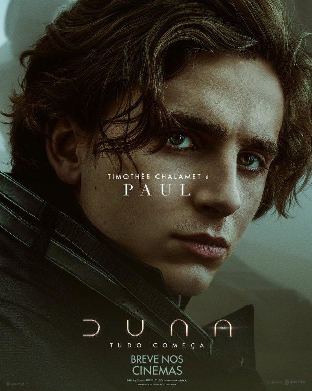 Paul Atreides personagem do filme Duna - Otageek