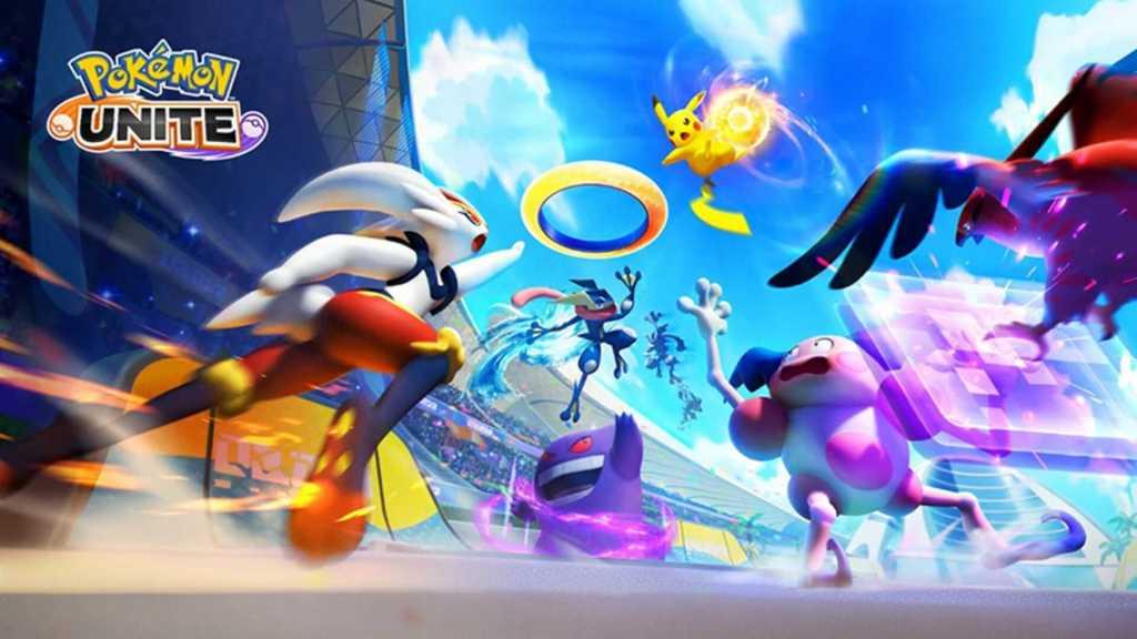 Capa do jogo Pokémon Unite