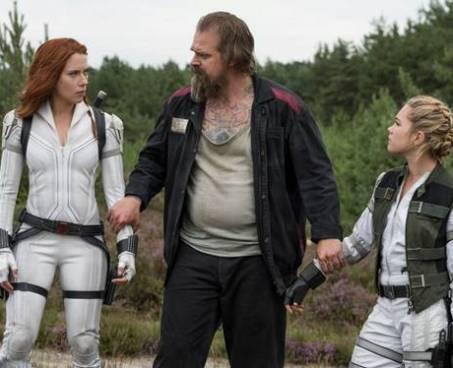 Natasha, Yelena e Guardião Vermelho - Crítica Viúva Negra - otageek