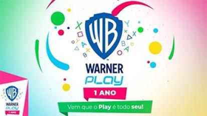 Cartaz 1 ano de Warner Play. - Otageek