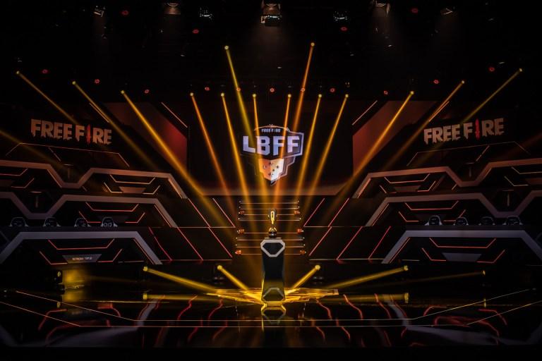 Final da Liga Brasileira de Free Fire Otageek