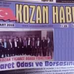 KOZAN HABER GAZETESİ OKURLARI İLE BULUŞTU