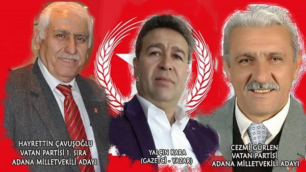 VATAN PARTİSİ ADANA MİLLETVEKİLİ ADAYLARI OTAĞ TV'DE