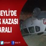 SAİMBEYLİ'DE KAZA; 2 YARALI