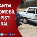 ADANA YOLUNDA MEYDANA GELEN TRAFİK KAZASINDA 3 KİŞİ YARALANDI
