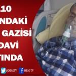 110 YAŞINDAKİ KORE GAZİSİ TEDAVİ ALTINDA