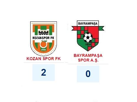 Kozan Spor 2 – 0 Bayrampaşa Spor