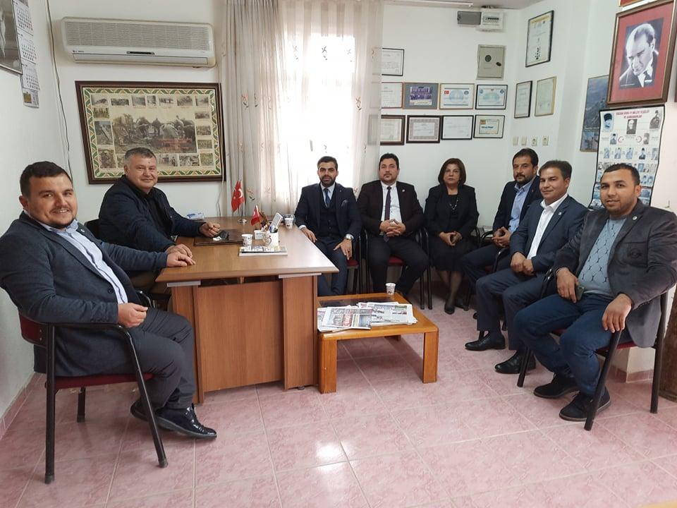 GELECEK PARTİSİ'NDEN OTAĞ TV'YE ZİYARET