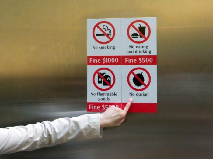 8 неожиданных причин нарваться на крупный штраф в Сингапуре
