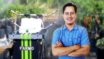 Ashraf Shuib, Pencipta Farm Assist Robot for Multi Operation, FARMO