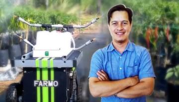Ashraf Shuib, Pencipta Farm Assist Robot for Multi Operation, FARMO