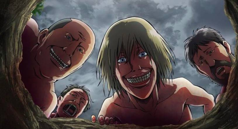 Attack On Titan Titans