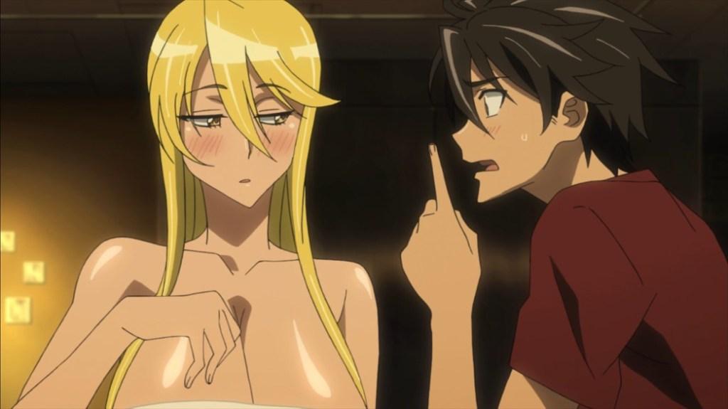 Highschool of the Dead Episode 6 Takashi tells Shizuku Off