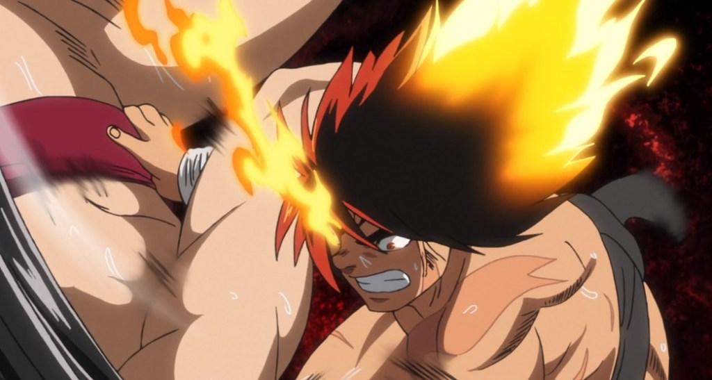 Hinomaru Sumo Ushio Versus Sosuke