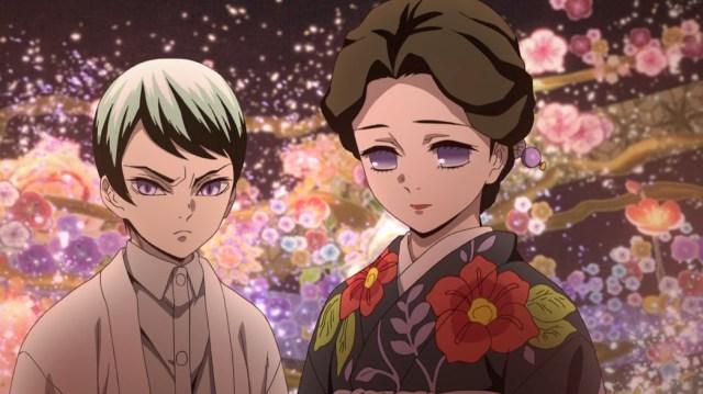 Demon Slayer Kimetsu No Yaiba Episode 8 Tamayo And Yushio